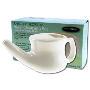 neti pot for salt therapy