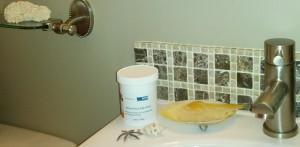 Salt Scrub Bath